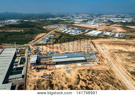 Land Development Industrial Estate Construction Earthmoving Structure Growth