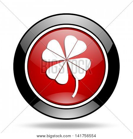 four-leaf clover icon