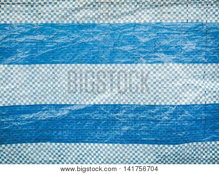Blue polyester fabric, Used for textured and background