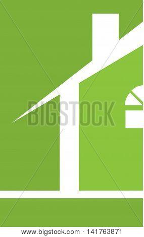 Professional Builder Realtor House Logo Template Green