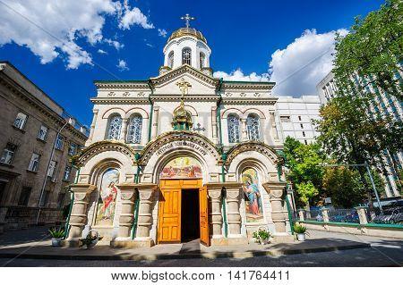Old Church of Transfiguration in Chisinau, Moldova