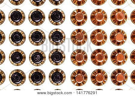 Different Bullets From Top