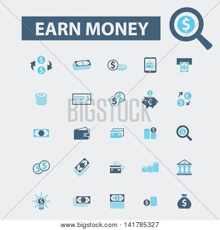 earn money icons