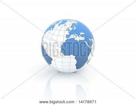 Blue World Globe