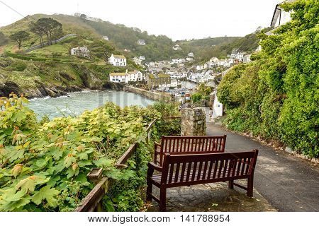 Polperro in Cornwall One of the most popular places in Cornwall the village of Polperro is undoubtedly one of the prettiest.