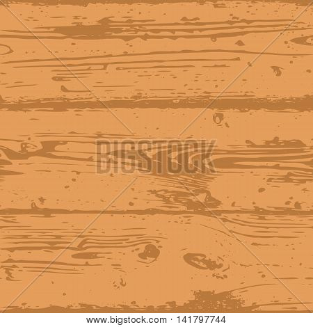 Decorative Wooden Seamless Pattern. Endless light brown background with realistic wood texture. Grained and textured backdrop for decoration, wallpaper, wrapping, digital paper, scrapbooking