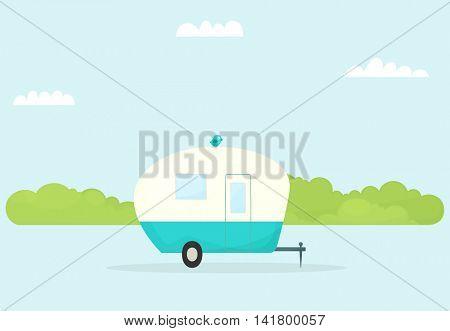 car trailer caravan