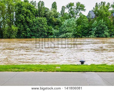 Flood In Frankfurt Hdr
