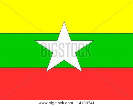 Mayanmar National Flag