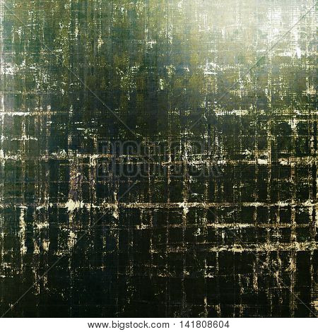 Grunge old texture used as abstract vintage style background. With different color patterns: brown; gray; green; black; white