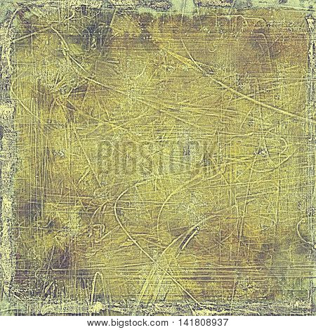 Cute colorful grunge texture or tinted vintage background with different color patterns: yellow (beige); brown; gray; purple (violet); cyan