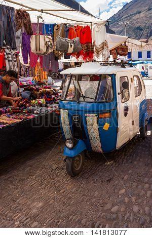 Mototaxi In Peru