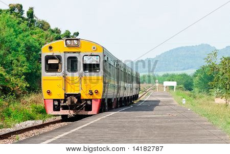 Express Diesel Railcar