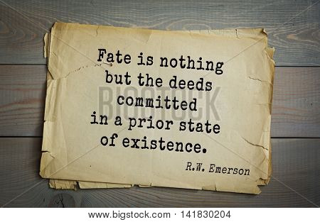 Aphorism by Ralph Waldo Emerson (1803-1882) - American essayist, poet, philosopher, social activist quote. Good men must not obey the laws too well.