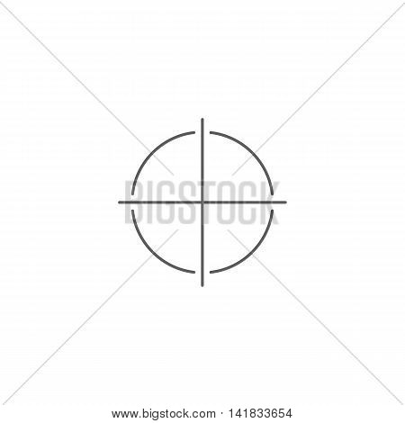 Vector illustration of add icon on white background. Simple black symbol. Eps10 format vector.