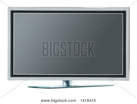 High Definition Plasma Tv (With Clipping Paths)