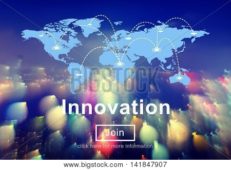 Innovate Innovation the Way Forward Invention Technology Concept