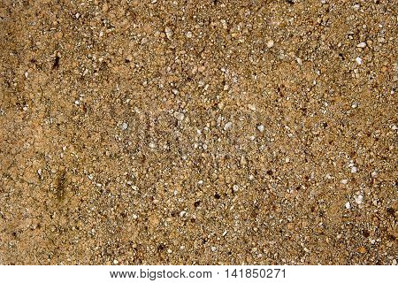 Pattern of the dark gravel surface texture