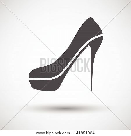 Sexy High Heel Shoe Icon