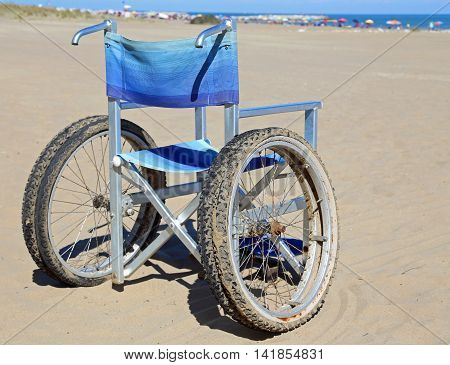 Modern Aluminum Wheelchairs With Special Wheels