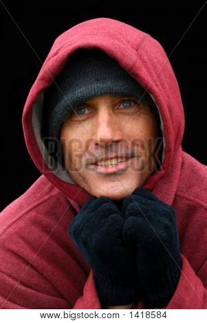 Homeless Man  - A Portrait Of Hope