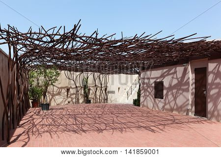 Marseille, France - July 8, 2016: The Museum of European and Mediterranean Civilisations called Mucem is a national museum located in Marseille, France. It was inaugurated on 7 June 2013