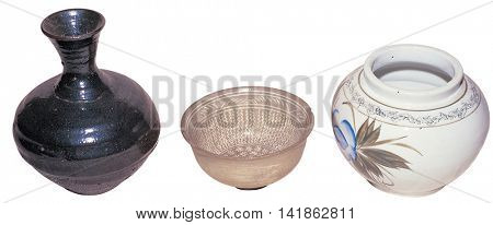 traditional object isolated on white background