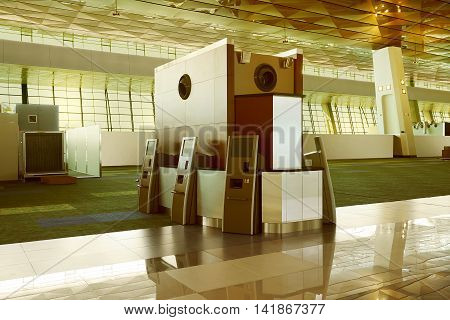 Modern Empty Lobby