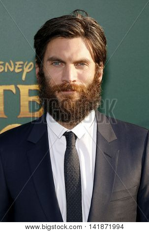 Wes Bentley at the World premiere of 'Pete's Dragon' held at the El Capitan Theatre in Hollywood, USA on August 8, 2016.