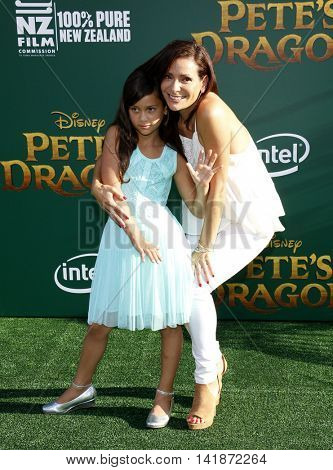Constance Marie at the World premiere of 'Pete's Dragon' held at the El Capitan Theatre in Hollywood, USA on August 8, 2016.