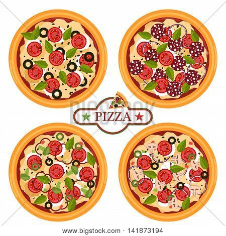 Pizza related pictures kinds of pizza on board italian cook and pizza delivery. Thinly sliced pepperoni is a popular pizza topping pizzerias. Pizza food italian cheese dinner symbol.