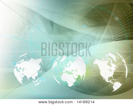 world map technology style  perfect background with space for text or image
