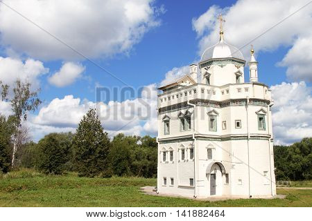 Russia Moscow Istra. The new Jerusalem monastery. The skete of Patriarch Nikon