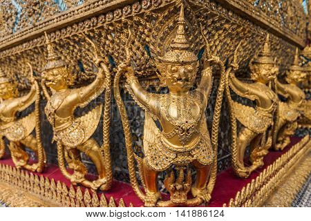Buddhist Temples In Bangkok, Thailand