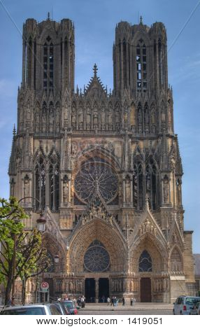 Notre-Dame Cathedral, Rheims, France