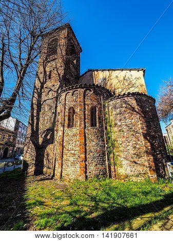 San Pietro Church In Settimo Torinese Hdr
