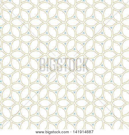 Seamless colored ornament. Modern geometric pattern with repeating elements