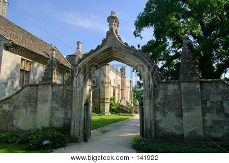 Lacock Abbey Entrance