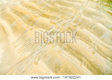 Abstact sand texture background at the beach