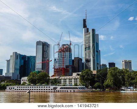 Frankfurt, Germany Hdr