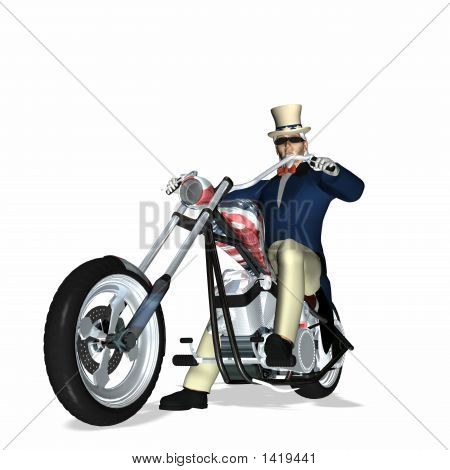 Uncle Sam Chopper 1