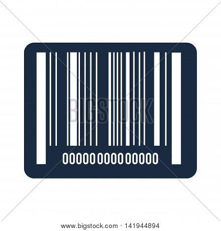 bars code data, isolated flat icon design