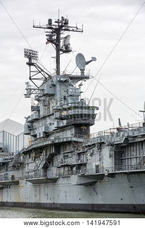 Aircraft Carrier Uss Intrepid