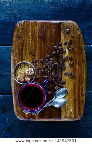 Black Hot Coffee