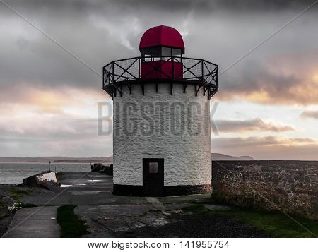 Burry Port Light house, Carmarthenshire, Wales This Lighthouse is situated at the entrance to the harbour.