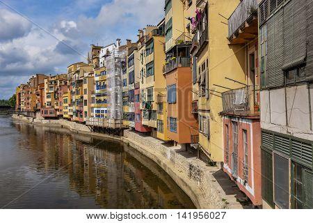 Cityscape Of Barcelona, Spain