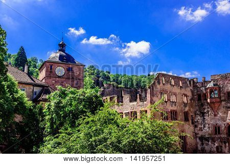 The Heidelberg Castle in Baden Würtemberg, Germany