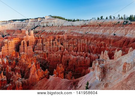 Amphitheater, Inspiration Point, Bryce Canyon National Park, Utah, Usa