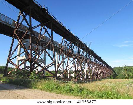 The  Kate  Shelley  Bridge  west  of  Boone,  Iowa
