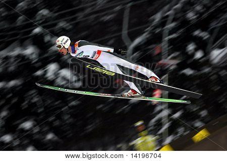 LIBEREC_FEBRUARY 27: Evensen Johan Remen of Norway in the FIS Nordic World SKI Championships February 27, 2009 in Liberec, Czech Republic.